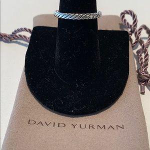 David Yurman cable band ring